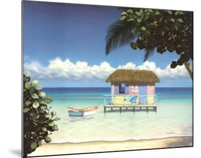 Island Hut-Daniel Pollera-Mounted Art Print
