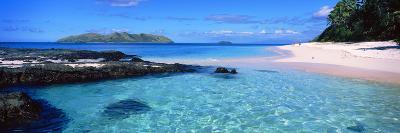 Island in the Sea, Veidomoni Beach, Mamanuca Islands, Fiji--Photographic Print