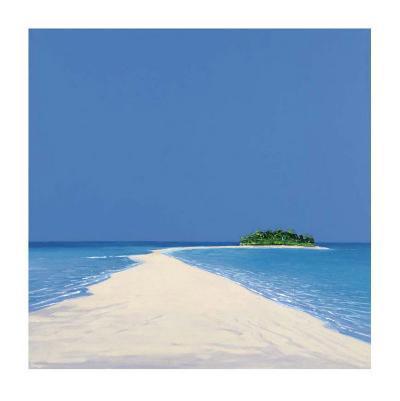 Island in the Sun II-Werner Eick-Art Print