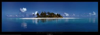 Island, Maldives, North Indian Ocean-Sunset Baumann-Art Print