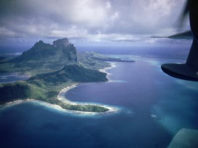 Island of Bora Bora; Part of South Seas Photo Essay--Photographic Print