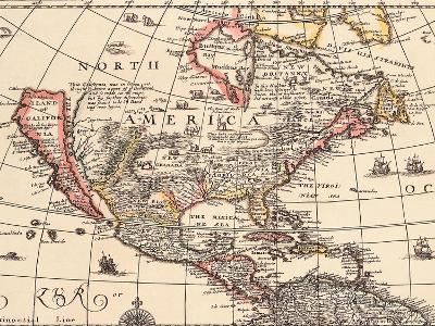 Island of California 1666--Giclee Print