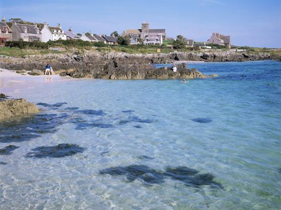 Island of Iona, Strathclyde, Scotland, United Kingdom-David Lomax-Photographic Print