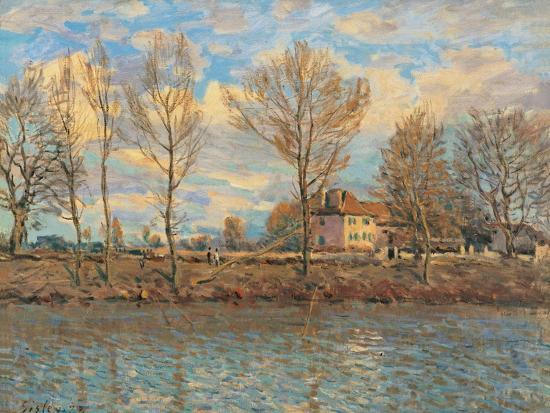 Island of La Grande Jatte, Neuilly sur Seine-Alfred Sisley-Art Print