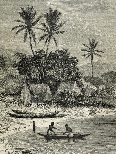 Island of Madagascar, Tamatave--Giclee Print