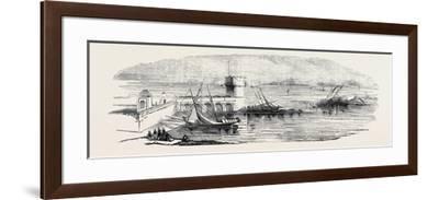Island of Mogadore--Framed Giclee Print
