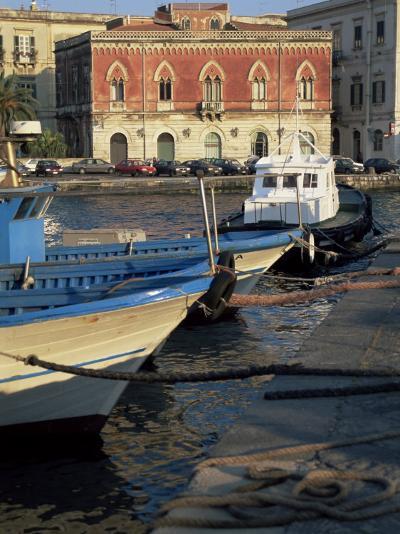 Island of Ortygia, Syracuse, Sicily, Italy, Mediterranean-Sheila Terry-Photographic Print