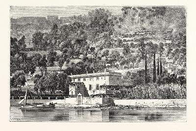 Island of Palmaria Opposite La Spezia--Giclee Print