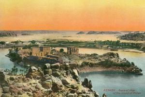 Island of Philae, Aswan, Nile