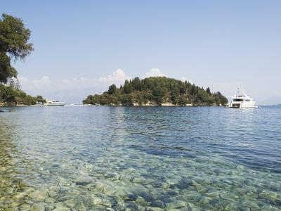 Island of Skorpios Owned by the Onassis Family, Near Lefkada, Ionian Islands, Greece-Robert Harding-Photographic Print