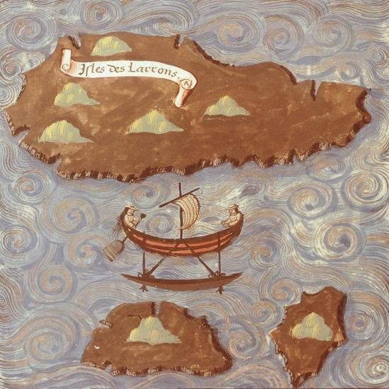 Island of Thieves-Antonio Pigafetta-Giclee Print