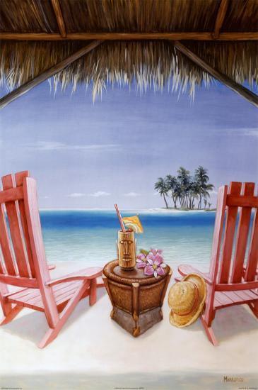 Island Retreat-David Marrocco-Art Print
