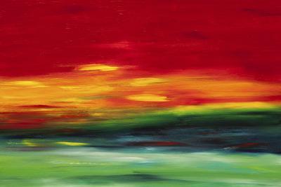 Island Sky 2-Hilary Winfield-Giclee Print