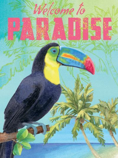 Island Time Toucan II-Beth Grove-Art Print