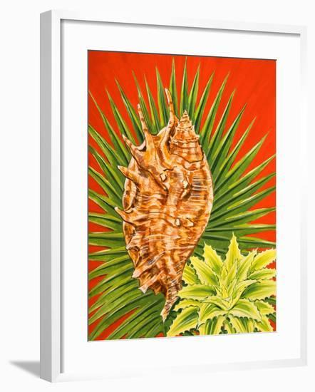 Island Treasures I-Linda Baliko-Framed Art Print