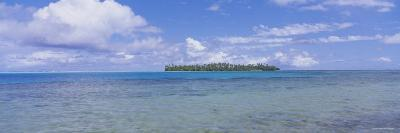 Island Viewed from the Ocean, Bora Bora, French Polynesia--Photographic Print
