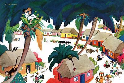Island Village - Jack & Jill-Katherine Millhous-Giclee Print