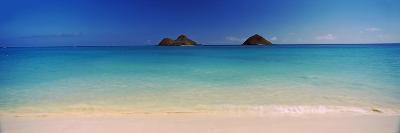 Islands in the Pacific Ocean, Lanikai Beach, Mokulua Islands, Oahu, Hawaii, USA--Photographic Print