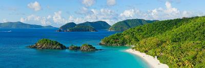Islands in the Sea, Trunk Bay, St. John, Us Virgin Islands--Photographic Print