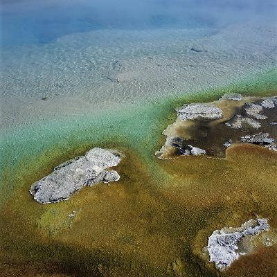 Islands Surrounded by Water Pollution--Photographic Print