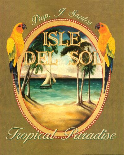 Isle del Sol-Catherine Jones-Art Print