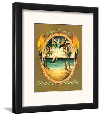 Isle del Sol-Catherine Jones-Framed Art Print