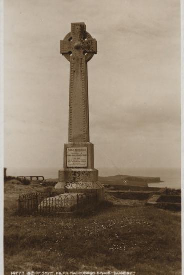 Isle of Skye, Flora Macdonald's Grave--Photographic Print