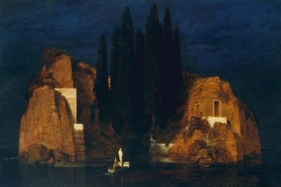 Isle of the Dead, second version, 1880-Arnold Bocklin-Giclee Print