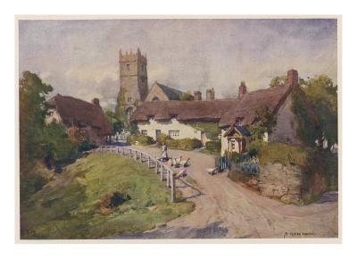 Isle of Wight: Godshill--Giclee Print