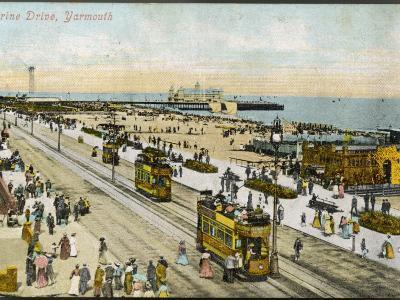 Isle of Wight: Yarmouth Marine Drive--Photographic Print