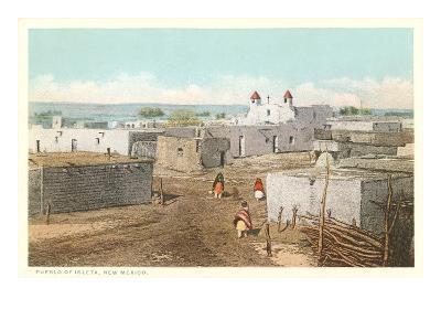 Isleta Pueblo, New Mexico--Art Print