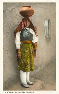Isleta Pueblo Woman, New Mexico