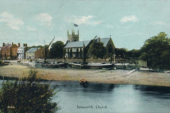 Isleworth Church, London, c1905-Unknown-Photographic Print
