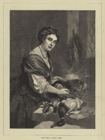 Isn't This a Dainty Dish?--Giclee Print