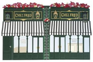 Chez Fred, 2016 by Isobel Barber