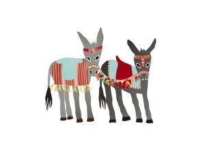 Donkeys, 2014 by Isobel Barber