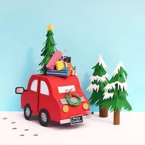Driving Home For Christmas, 2016 by Isobel Barber