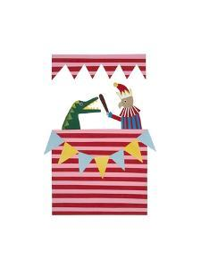 Punch and Judy, 2014 by Isobel Barber