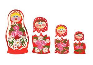 Russian dolls, 2014 by Isobel Barber