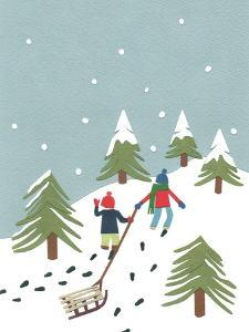 Sledging, 2014 by Isobel Barber