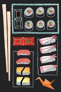 Sushi, 2014 by Isobel Barber
