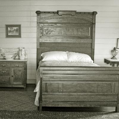 Isobel's Bedroom, Villa Vailima, Apia, Samoa--Photographic Print