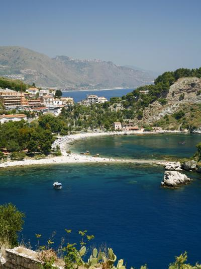Isola Bella Island and Beach, Taormina, Sicliy, Italy, Mediterranean, Europe-Levy Yadid-Photographic Print