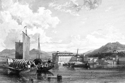 Isola Bella, Lago Maggiore, Italy, 19th Century-W Miller-Giclee Print