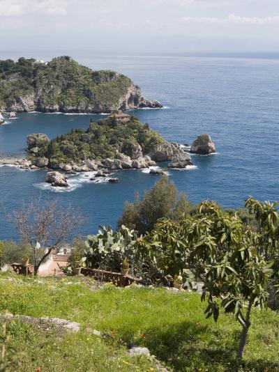 Isola Bella, Mazzaro, Sicily, Italy, Mediterranean, Europe-Martin Child-Photographic Print