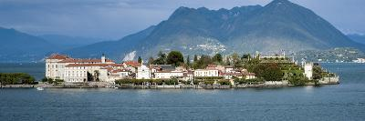 Isola Bella Seen from Ferry, Borromean Islands, Lake Maggiore, Piedmont, Italy--Photographic Print