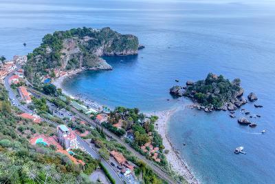 Isola Bella, Taormina, Messina, Sicily, Italy-Joana Kruse-Photographic Print