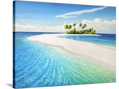 Isola tropicale-Adriano Galasso-Stretched Canvas Print