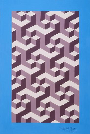 Isometric Composition-Peter McClure-Giclee Print