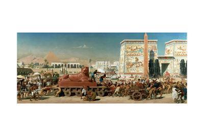 Israel in Egypt, 1867-Edward John Poynter-Giclee Print
